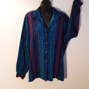 Tan Jay womens size 16 top